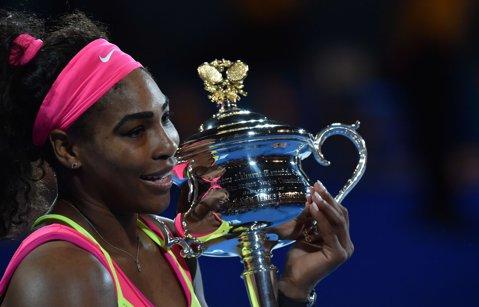 """Serena Williams: """"Nu renunţaţi niciodată dacă vreţi să realizaţi ceva"""""""