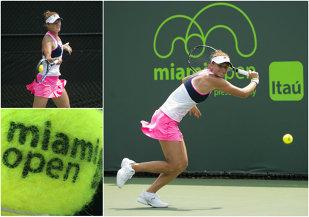 """Irina Begu, de la extaz la agonie şi înapoi pe val: revenire spectaculoasă împotriva cehoaicei Smitkova. Super-confruntare cu """"Aga"""" Radwanska pentru un loc în optimi, la Miami"""