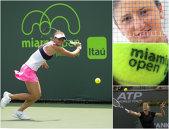 """Begu, un set şi jumătate de spectacol la Miami, cu """"Aga"""". 46 de erori concentrate în primul set şi în ultimele 3 game-uri îi dau bilet de optimi polonezei Radwasnka. Genunchiul a rezistat: Serena, din nou prea bună pentru Niculescu"""