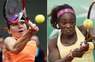 """Simona Halep va juca împotriva """"mini Serenei"""" în sferturile de finală la Miami. Cine este Sloane Stephens şi care sunt marile performanţe ale americancei"""