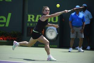 Simona Halep joacă miercuri noapte, de la ora 02.00, în sferturi la Miami Open