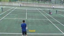 VIDEO | Un puşti român este copia lui Federer. Cum îl imită la perfecţiune pe elveţian, dar şi pe Nadal, Djokovic, Wawrinka, Dimitrov şi Monfils
