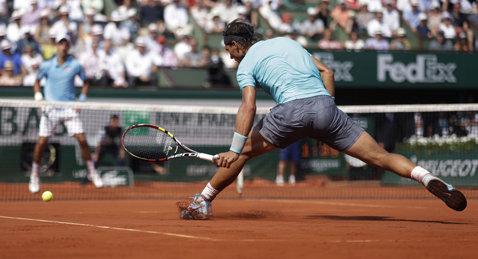Nadal, mult prea mic pentru Djokovic. Sârbul nu i-a dat nicio şansă ibericului în semifinale la Monte Carlo