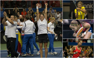 Zeiţele de la Montreal: România s-a calificat în Grupa Mondială din Fed Cup! Dulgheru a adus punctul decisiv cu Canada! Fenomenala Mitu a învins-o pe Bouchard