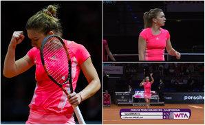 Halep s-a calificat în semifinale la Stuttgart! Distracţie pe serviciul lui Errani: 6-4, 6-4. Urmează Caroline Wozniacki