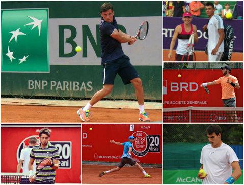"""Cum arată viitorul tenisului masculin românesc. Jucătorii de la Năstase-Ţiriac Trophy îşi fac autoportretul pentru ProSport. """"Sunt un talent nativ şi doresc să mă cunoască tot globul"""""""