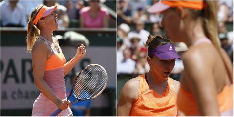 Halep tremură pentru locul 2 WTA. Şarapova a spulberat-o pe Duque-Marino şi s-a apropiat de obiectivul de la Madrid