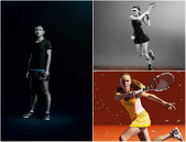 FOTO | Ţinute speciale pentru vedetele Adidas la Roland Garros. Cum arată echipamentele îmbrăcate de Simona Halep, Ana Ivanovic şi Caroline Wozniacki