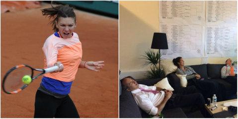 Halep, abandonată de omul de încredere. Ce face antrenorul Cahill în timp ce Simona pregăteşte meciul de la Roland Garros