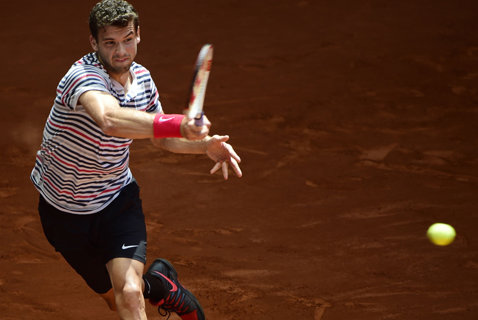 Dimitrov pleacă acasă, Djokovic merge ceas la Roland Garros