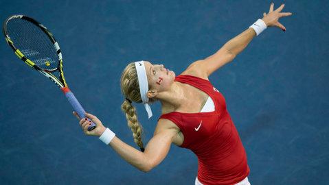 Eugenie Bouchard, eliminată în primul tur la Wimbledon