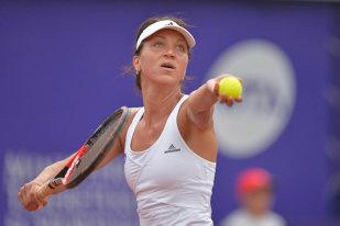 Patricia Maria Ţig s-a calificat în sferturi de finală la Baku, la dublu