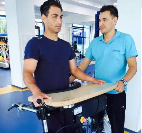 """Campionul naţional la tenis în scaun cu rotile Ciprian Anton a primit cea mai bună veste de la specialişti. """"Suntem optimişti în privinţa recuperării lui!"""""""