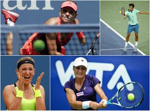 US Open, ziua a 4-a   Simona Halep s-a calificat în turul trei la simplu şi a defilat în primul meci de dublu mixt al carierei. Monica Niculescu, eliminată de Flavia Pennetta