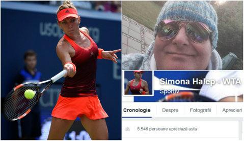 DE NECREZUT   Danezul obsedat de Simona Halep administrează o cunoscută pagină de Facebook dedicată sportivei. Andreassen s-a adresat la WTA pentru a o oficializa