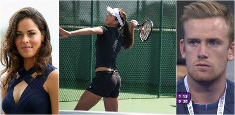 """Ana Ivanovic a şocat lumea tenisului la Beijing. FOTO   Cine este """"puştiul"""" din imagine, cu 6 ani mai tânăr decât sâboaică"""