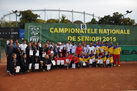 Dinamo a învins Steaua în proba feminină a Naţionalelor de tenis. Cine s-a impus la masculin şi cum arată loturile echipelor de pe podium