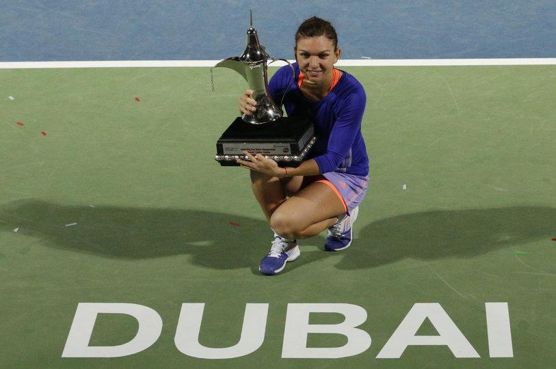 Decizie surprinzătoare: Simona Halep nu îşi va apăra titlul de la Dubai, al doilea cel mai important al carierei