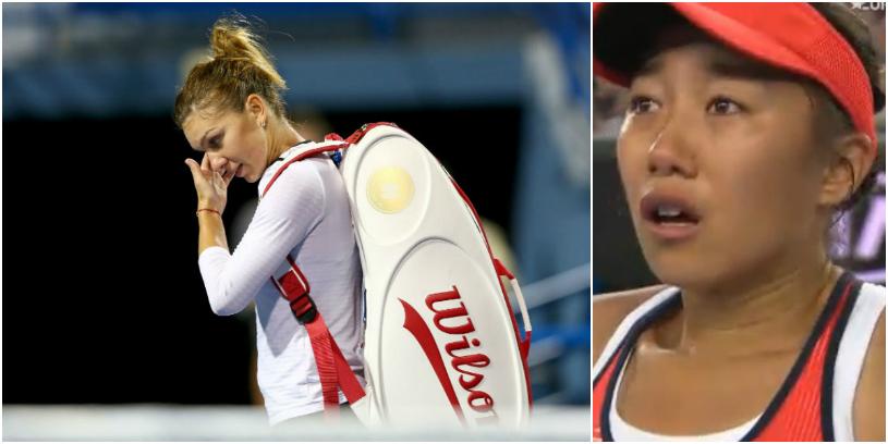 """Coşmar """"made in China"""" la Australian Open! Simona Halep a fost învinsă de o sportivă care nu mai câştigase niciun meci într-un turneu de Grand Slam"""