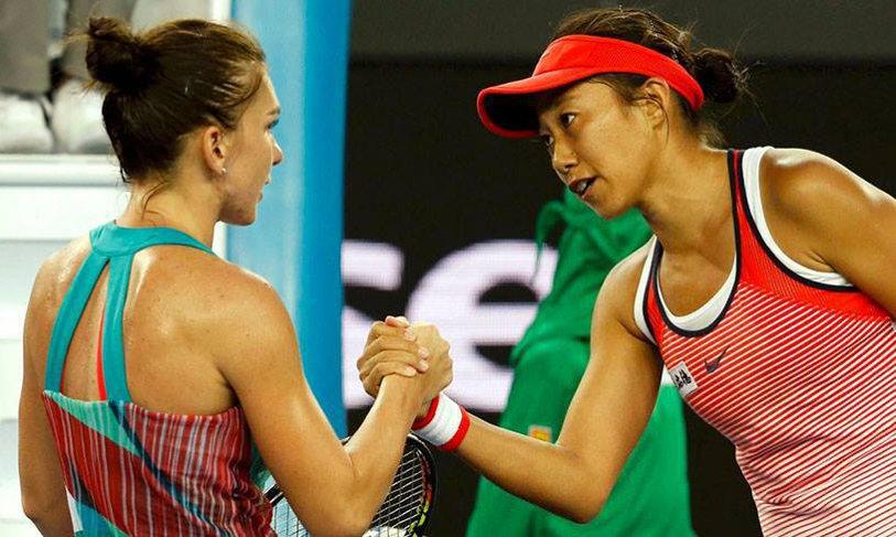 Continuă visul! După Halep, Shuai Zhang a eliminat-o şi pe Alize Cornet de la Australian Open