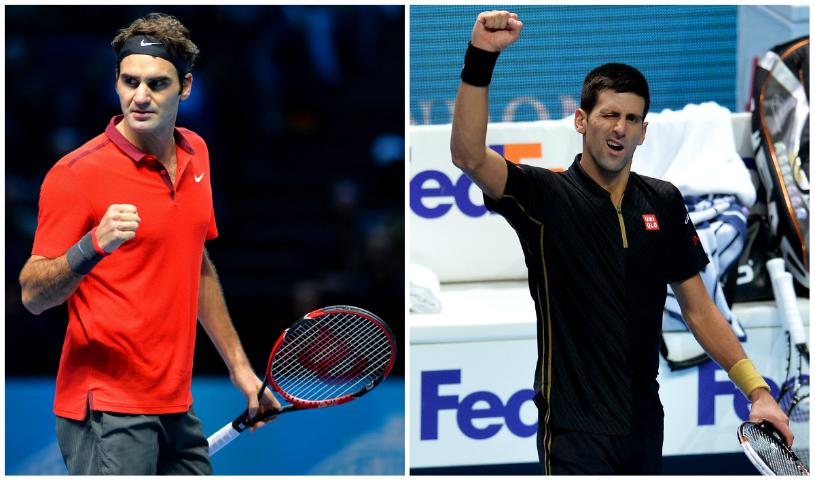 Se anunţă spectacol la Australian Open! Roger Federer şi Novak Djokovic se vor înfrunta în semifinale
