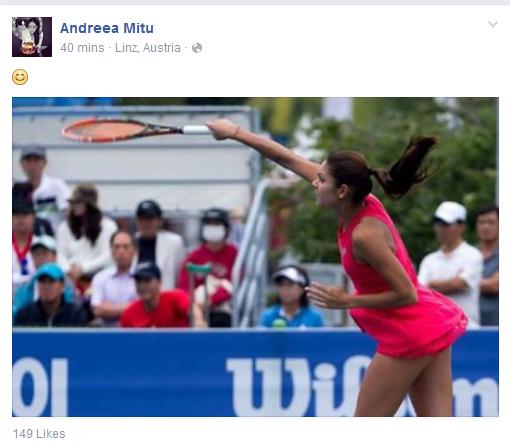 Start fals de sezon pentru Andreea Mitu: a fost eliminată şi din primul tur al unui turneu ITF din Franţa. Românca, fără victorie la simplu în 2016