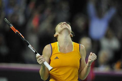 """FED Cup, restartul aşteptat de Simona Halep: """"Am început să cred mai mult în mine"""". Ce i-a spus antrenorul Darren Cahill imediat după meciul cu Kvitova"""