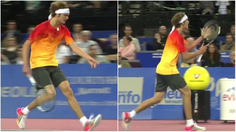 VIDEO | Ieşire scandaloasă într-o semifinală ATP. Arbitrul de scaun, înjurat ca la uşa cortului de un tânăr jucător