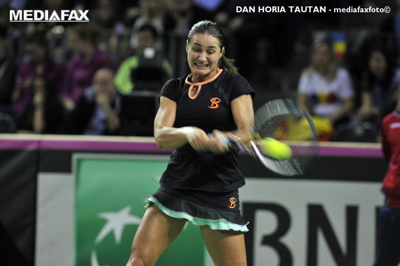 Monica Niculescu, eliminată de Timea Babos, scor 6-4, 1-6, 3-6, în optimile turneului de la Sankt Petersburg