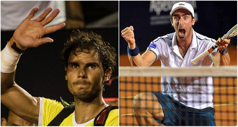 Nimic nu mai e la fel: Rafa Nadal, învins în a doua săptămână consecutivă în semifinalele unui turneu pe zgură, într-un thriller de trei ore şi jumătate. Cuevas - Pella, ultimul act al anonimilor la Rio