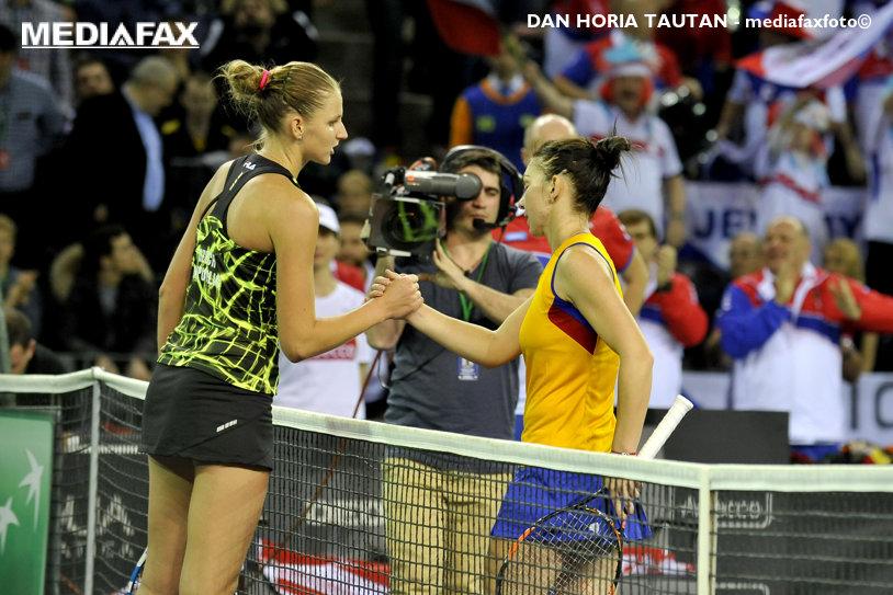 Umilinţă pentru jucătoarea care a eliminat România din Fed Cup! Pliskova a luat doar două game-uri în turul I la Doha