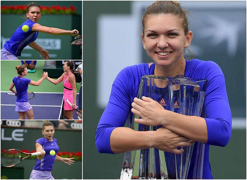 Halep şi paradisul tenisului, povestea anului în concursul feminin, la Indian Wells! Ce spun americanii despre Simona
