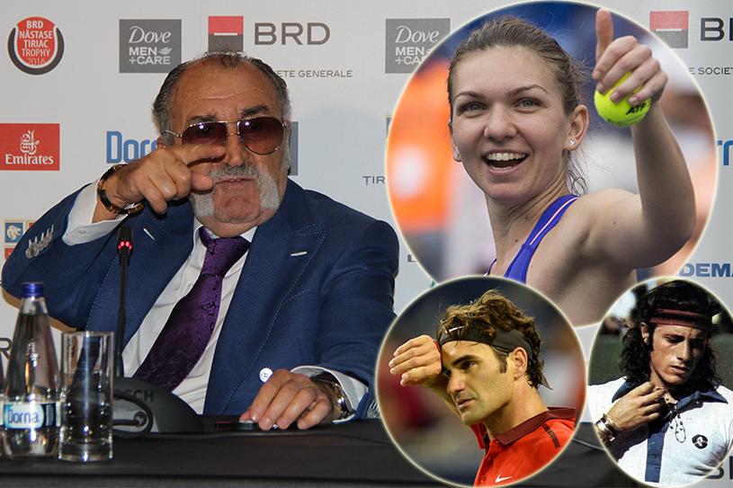 """Ion Ţiriac: """"Simona Halep are un talent excepţional. Dar are nevoie de timp"""""""