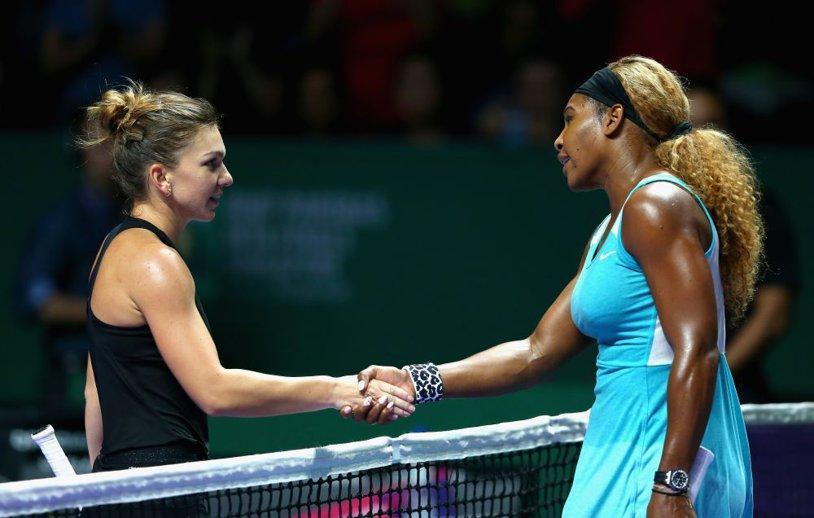 """N-a avut ce să-i facă! Simona Halep a avut """"sclipiri"""" cu Serena în """"sferturile"""" turneului de la Indian Wells, dar liderul mondial a făcut şi de această dată diferenţa cu jocul în forţă"""