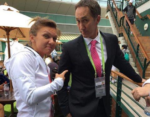 """Simona Halep a tras o sperietură înaintea meciului de la Wimbledon: """"Mi-au furat antrenorul!"""""""
