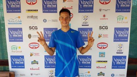 După Irina Begu, echipa lui Cruciat lansează un nou tenismen cu potenţial: Daniel Cozma