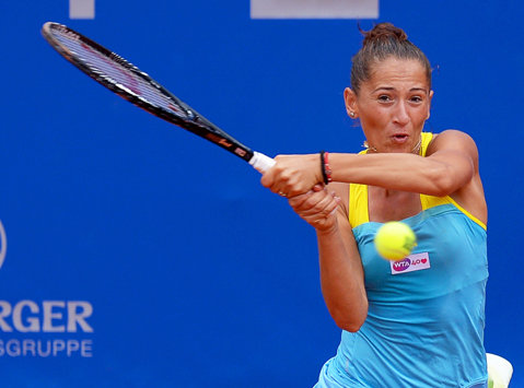 Alexandra Cadanţu s-a calificat în optimile turneului ITF de la Roma