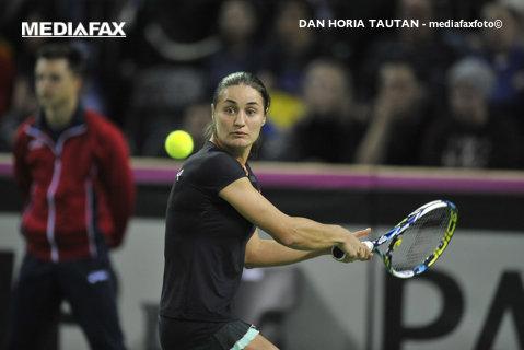 Monica Niculescu şi Sania Mirza s-au calificat în finala turneului de la New Heaven