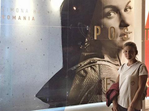 FOTO | Halep a ajuns pe Broadway! Surpriza de care a avut parte Simona înaintea turneului de la US Open