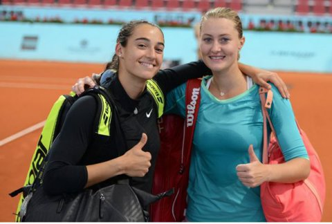 Kristina Mladenovic, Caroline Garcia şi Benoit Paire au fost suspendaţi de Federaţia Franceză de Tenis