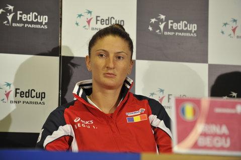 Irina Begu, eliminată de Garbine Muguruza în primul tur al turneului de categorie Premier Mandatory de la Beijing