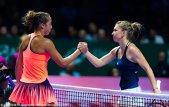 Simona conduce grupa de la Turneul Campioanelor după prima zi! Kerber a trecut greu de Cibulkova, iar Halep a devenit favorită la calificarea în semifinale