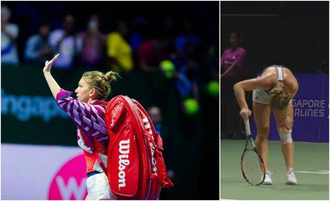 LIVE BLOG | Halep, ELIMINATĂ de la Turneul Campioanelor după un meci de coşmar: 3-6, 6-7 cu Cibulkova! Simona a luptat eroic, dar a jucat cu dureri