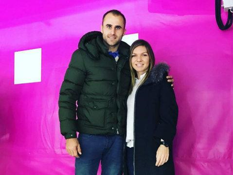 IMAGINEA ZILEI | Rachetele de aur ale tenisului românesc, în aceeaşi fotografie. Simona Halep şi Marius Copil sărbătoresc 19 ani de prietenie