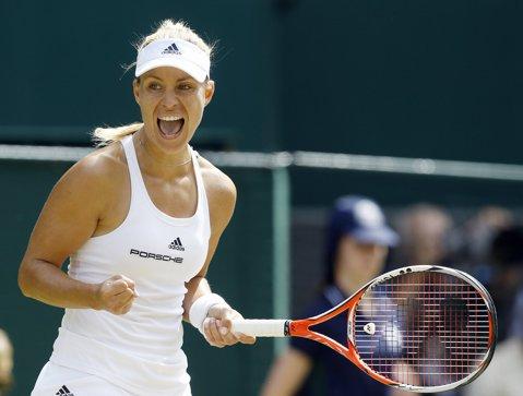Meci cu emoţii pentru liderul mondial! Angelique Kerber s-a calificat în turul secund al turneului Australian Open