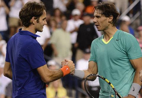 Decizie istorică în lumea tenisului! Federer şi Nadal vor juca pentru prima dată împreună la dublu