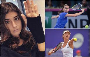 Ghinioanele se ţin lanţ în circuitul WTA. Trei românce s-au retras de la turneele din această săptămână