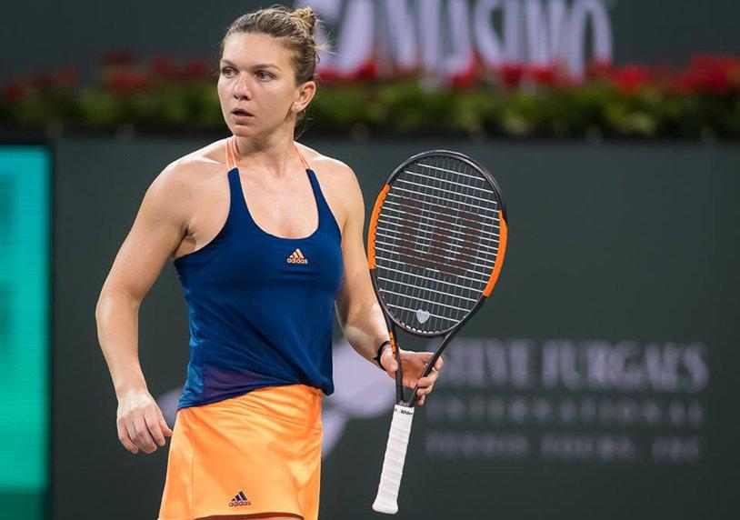Simona Halep se află pe locul cinci în clasamentul WTA