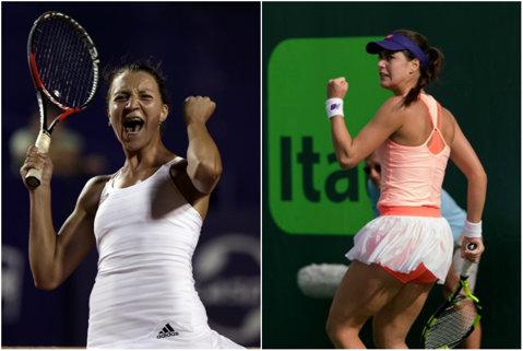 """Victorii formidabile la Miami: Ţig a eliminat-o pe Mladenovic, Cîrstea a învins-o pe Sevastova! """"Pati"""" şi Sorana vor întâlni două staruri ale tenisului în turul 3"""