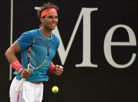 Rafael Nadal a obţinut victoria în meciul cu numărul 1000 din carieră după ce a pierdut primul set 'la zero'
